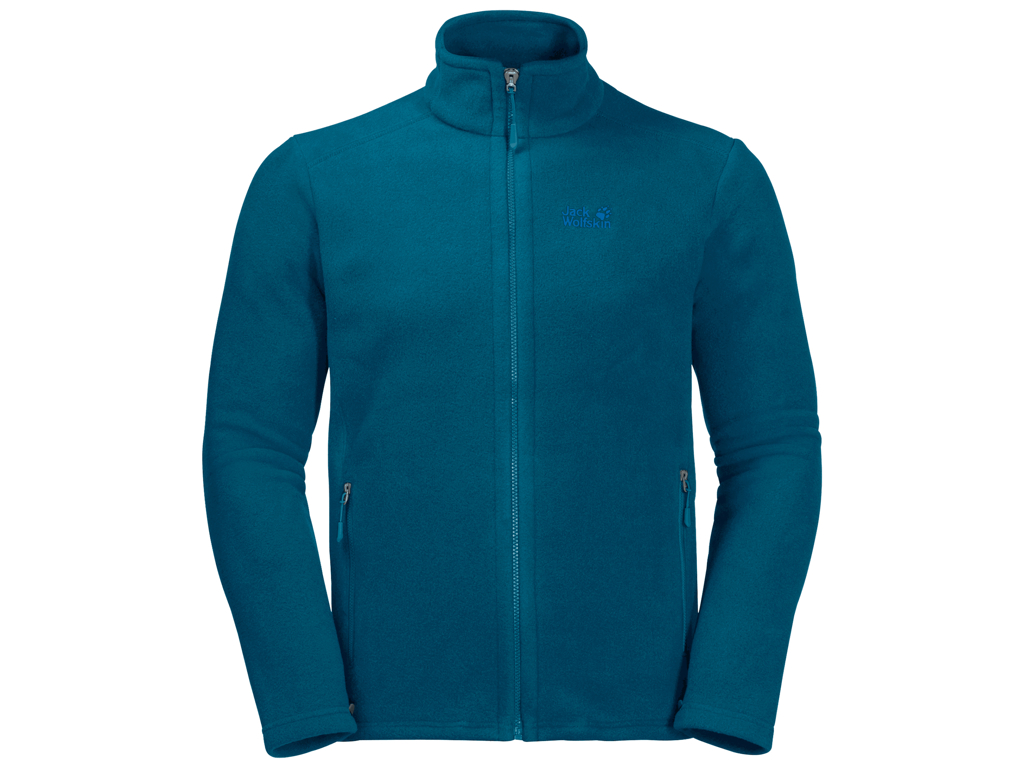 Jack Wolfskin Midnight Moon Fleece Jakke - Hr. Str. 3XL - Blå