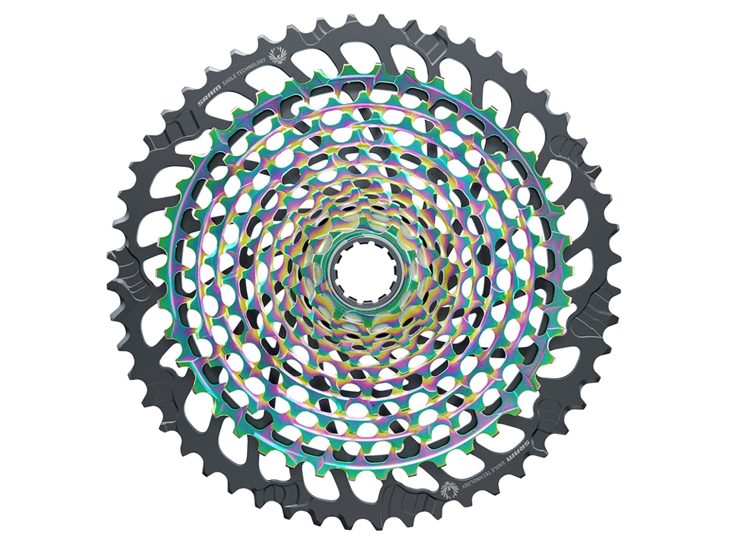Sram Kassette - XG-1299 Eagle - 12 Speed - 10-52T - Rainbow