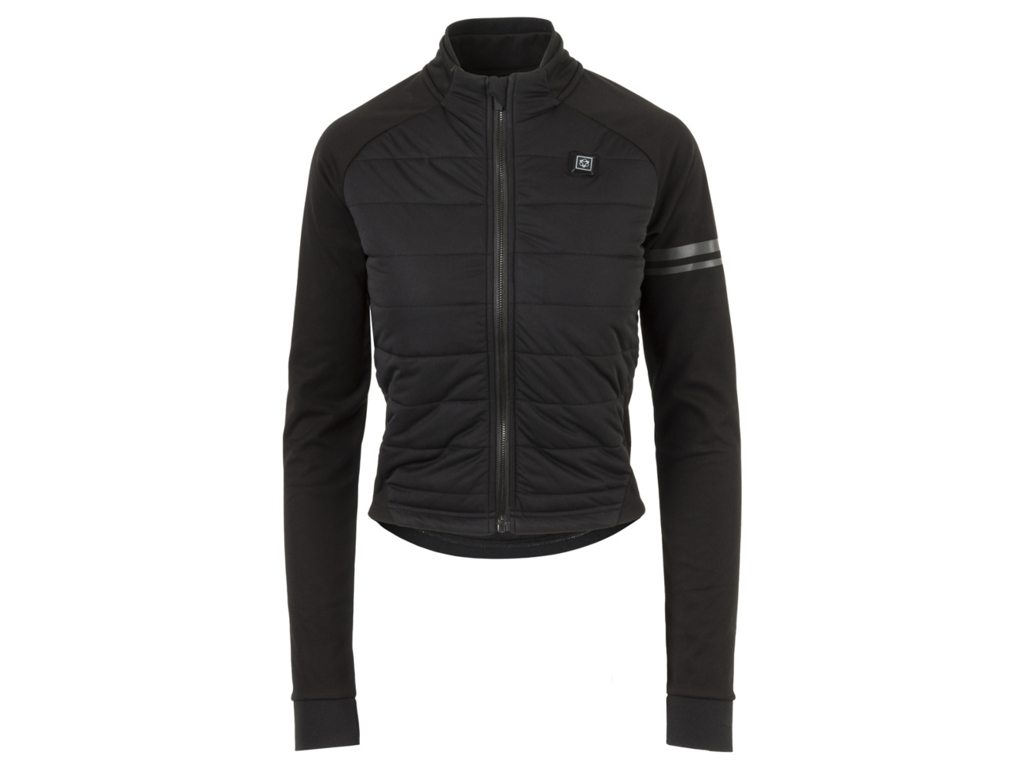 AGU Deep Winter Heated Jacket - Dame cykeljakke med varmezoner - Sort - Str. XL