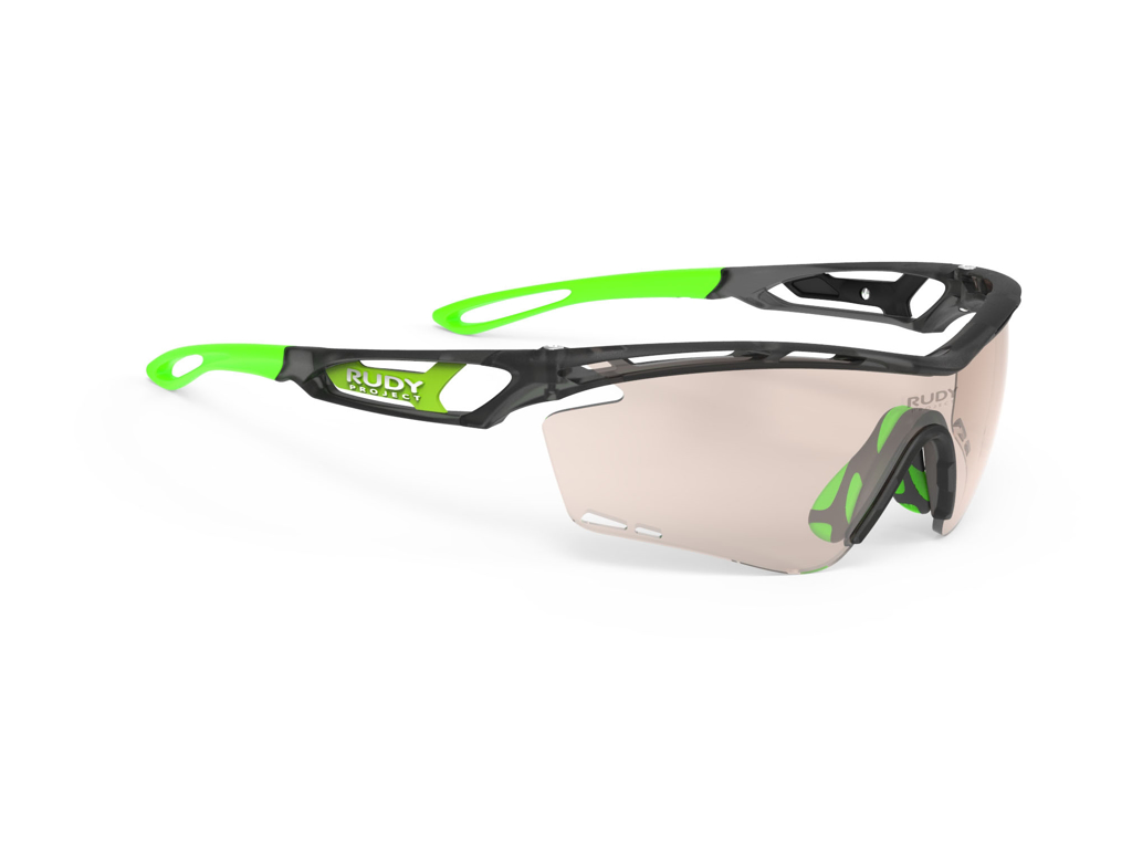 Rudy Project Tralyx - Løbe- og cykelbrille - Impactx Fotokromisk 2 - Ice Graphi Mat
