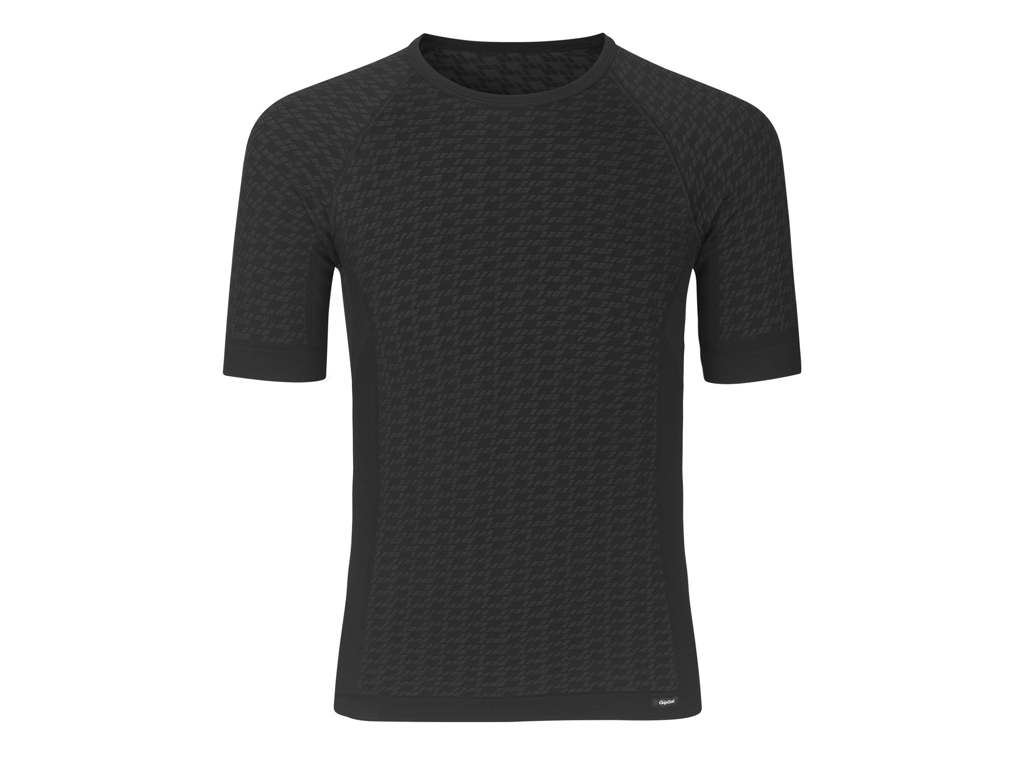 GripGrab Expert Seamless Lightweight Base Layer - Svedundertrøje K/Æ - Sort - Str. XS/S