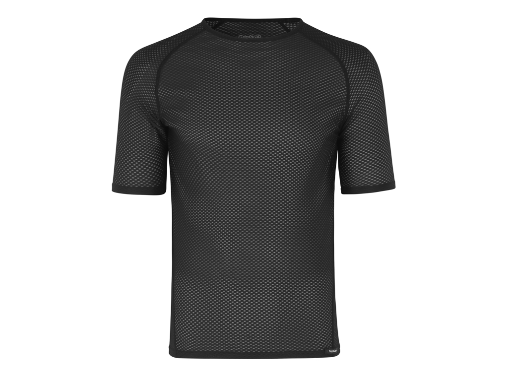 GripGrab Ultralight Mesh Base Layer - Svedundertrøje K/Æ - Sort - Str. XS