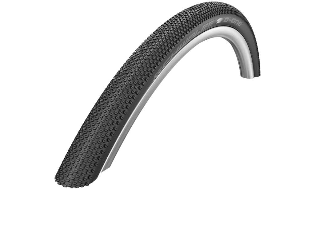Schwalbe G-One Allround - Gravel Foldedæk - 27,5x2,25 (57-584) Sort Reflex