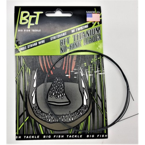 BFT Titanium No-Kink Leader 10ft